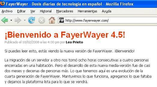 fayerwayer