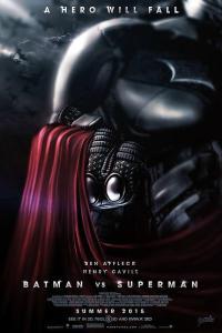Batman v Superman Dawn of Justice posters Batsuit Ben Affleck