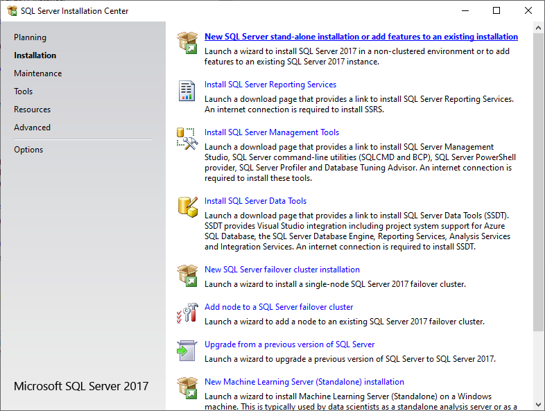 sql-server-installation-center